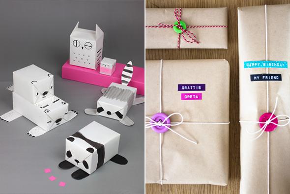 Idee Decoration Decore Paquet Cadeau
