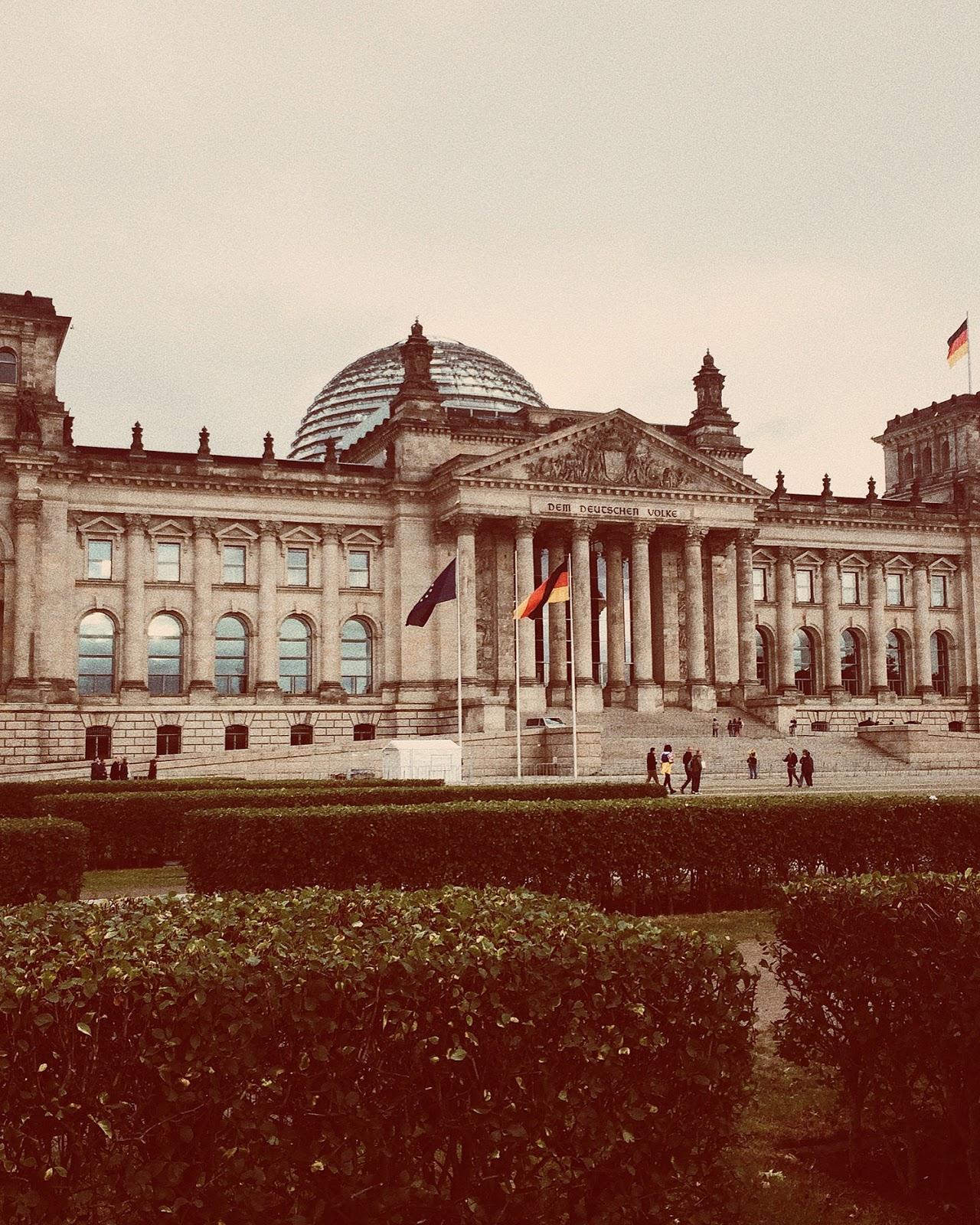 Reichstag w Berlinie