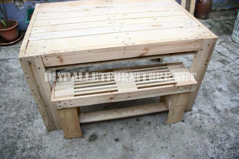 Como hacer paso por paso una mesa - Como hacer una mesa con palets ...