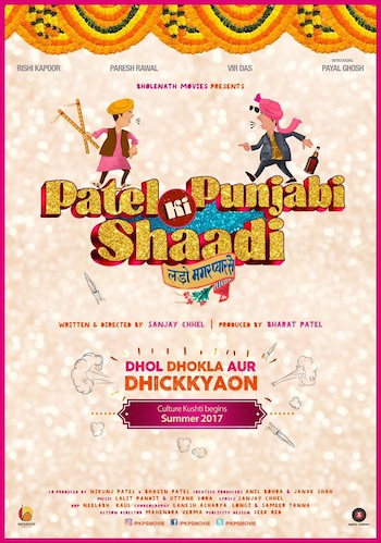 Patel Ki Punjabi Shaadi 2017 pDVDRip Hindi 650MB