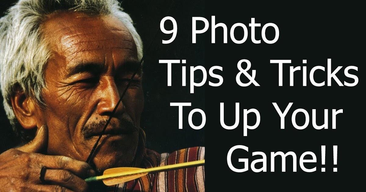 9 Photography Tips Tricks to KickStart Your Creativity (feat. Bob Holmes)