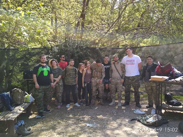 09.04.2018 - Paintball Hellas Βαρυμπόμπη
