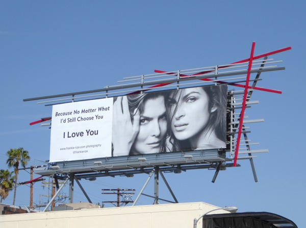 I Love You Frankie Rize Photography billboard
