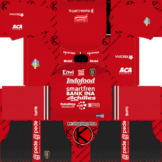 Bali United 2019 Kit - Dream League Soccer Kits