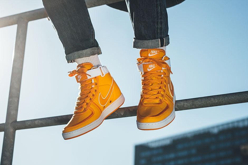 "sale retailer b1cfc 3dec9 Swag Craze  First Look  Nike Vandal High Supreme QS ""Doc Brown"""