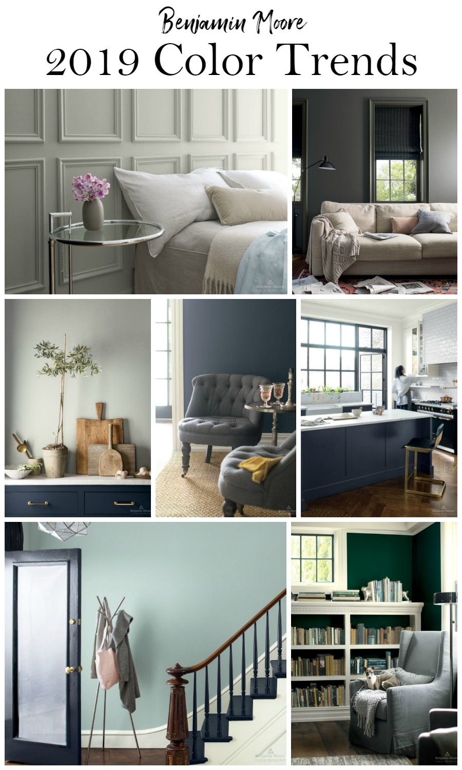 Benjamin Moore Paint Color Trends 2019  Postcards from