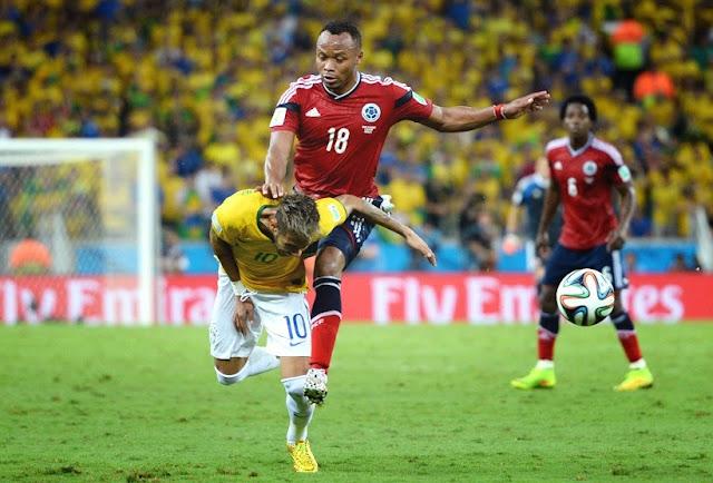 Farsa da contusão de Neymar?