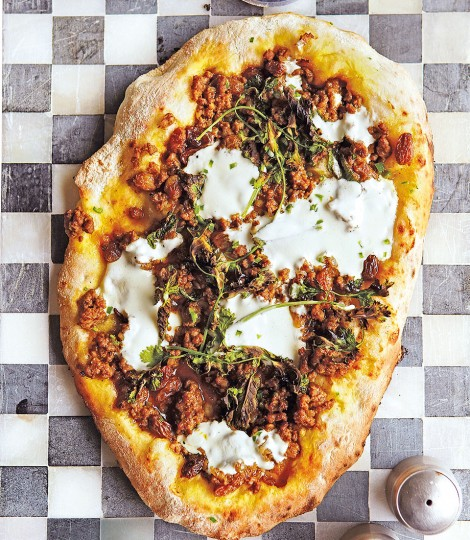 Lebanese Lamb Flatbread Recipe