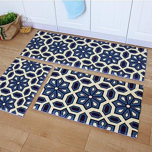 mohawk gale 3-piece printed kitchen rug set