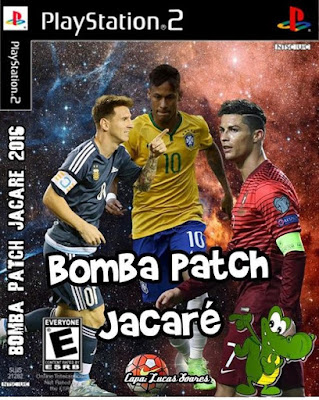 Bomba Patch Jacaré 2016 para PS2