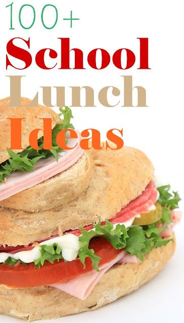 100+ School Lunch Ideas