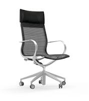 Cherryman Industries Curva High Back Chair