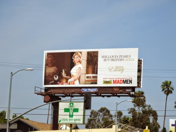 Mad Men Betty vintage Emmy 2014 billboard