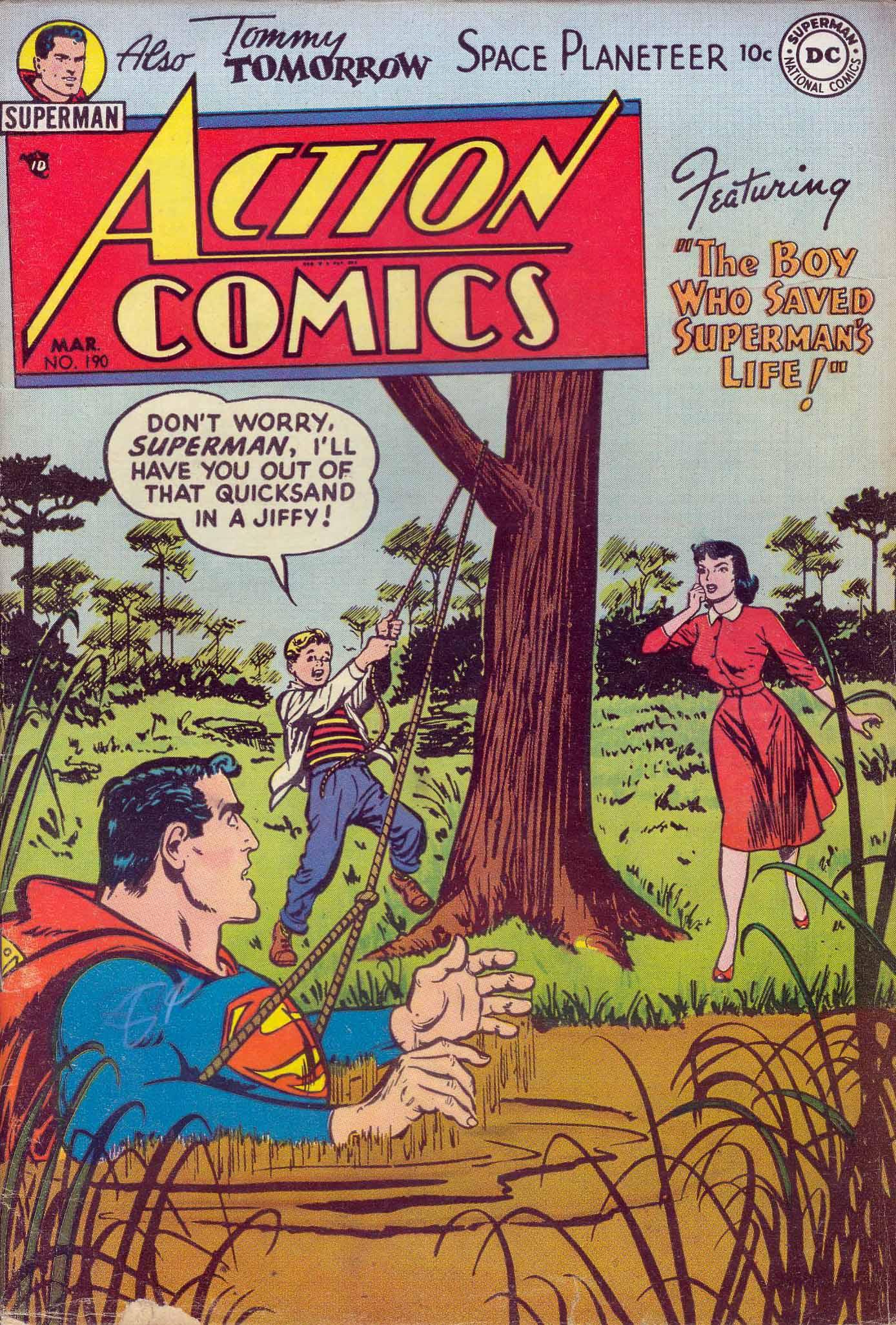 Action Comics (1938) 190 Page 1