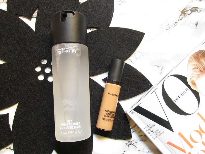 Review: MAC Pro Longwear Concealer in N635 & MAC Prep+Prime Fix+ Fixing Spray