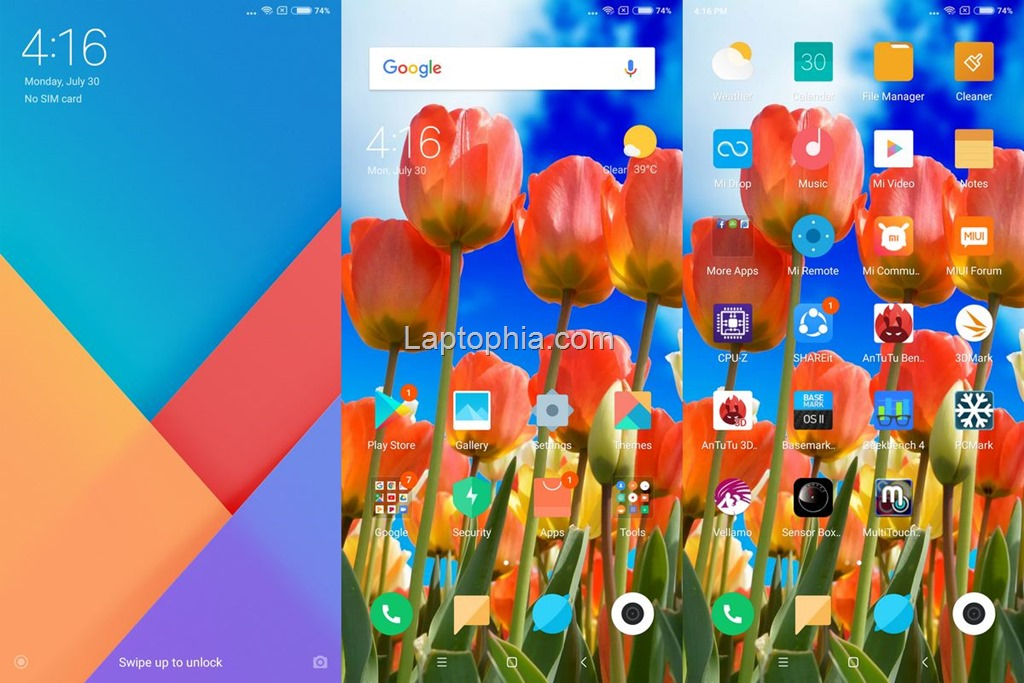 Software & Fitur Xiaomi Redmi Note 5