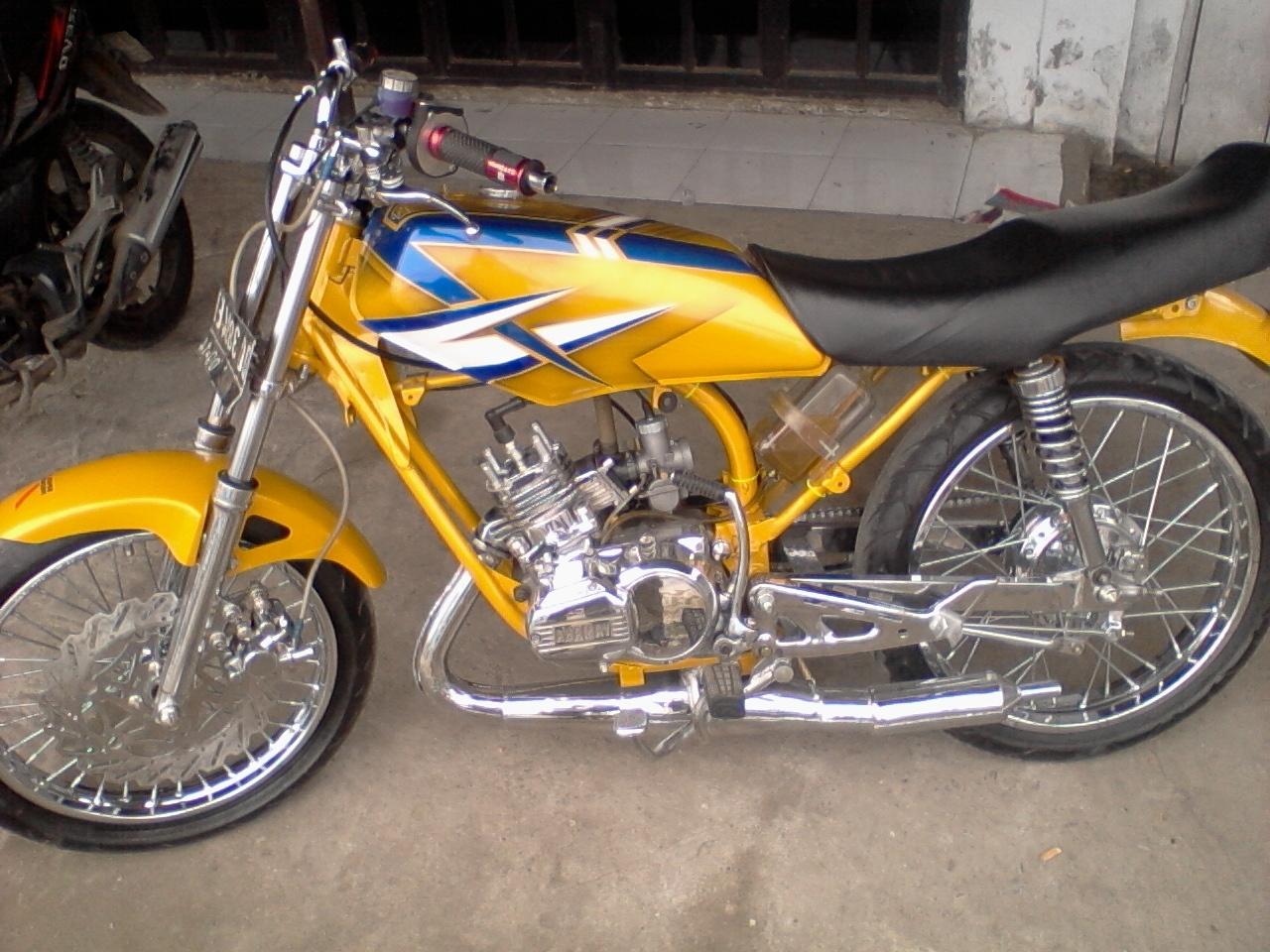 Modifikasi Motor Rx King Cobra Kics Sukamaju