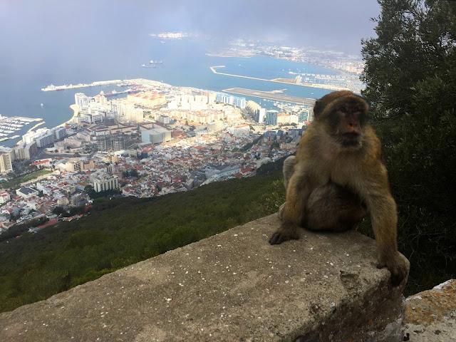 Gibraltar... na krańcu Europy.