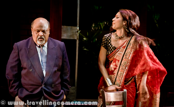 Yesterday 'Red Hot' play was showcased during Bharat Rang Mahotsav. It was showcased at Kamani Auditorium, Delhi, India. A marvelous play by Saurabh Shukla, which shows three rendezvous with three different ladies having completely different characteristics. Whole team of the this play including Director, Actors, Music experts and light experts did a great job in smooth execution of the play with best possible presentation of the idea of the play. Many folks in Delhi were not able to see this play due to extra demand and less space in Kamani. Which is good sign that theatre is being appreciated very well now and looking at the needs, thetre institutions need to work with appropriate authorities for building right infrastructure.