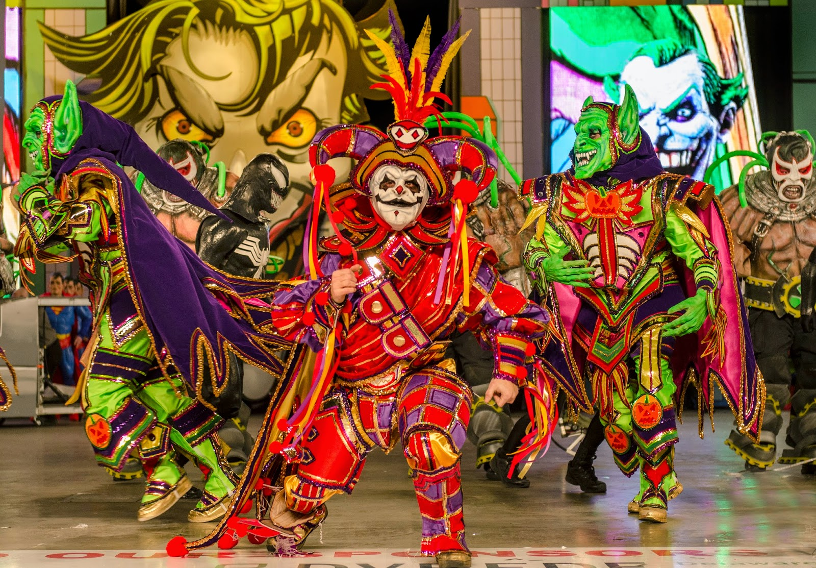 Annual Mummers Parade in Philadelphia