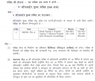MPHC Assistant Grade 3 Exam Pattern and Syllabus