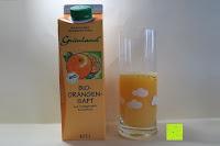 Tetrapak und Saft: Grünland Bio Orangensaft, 8er Pack (8 x 1 l)