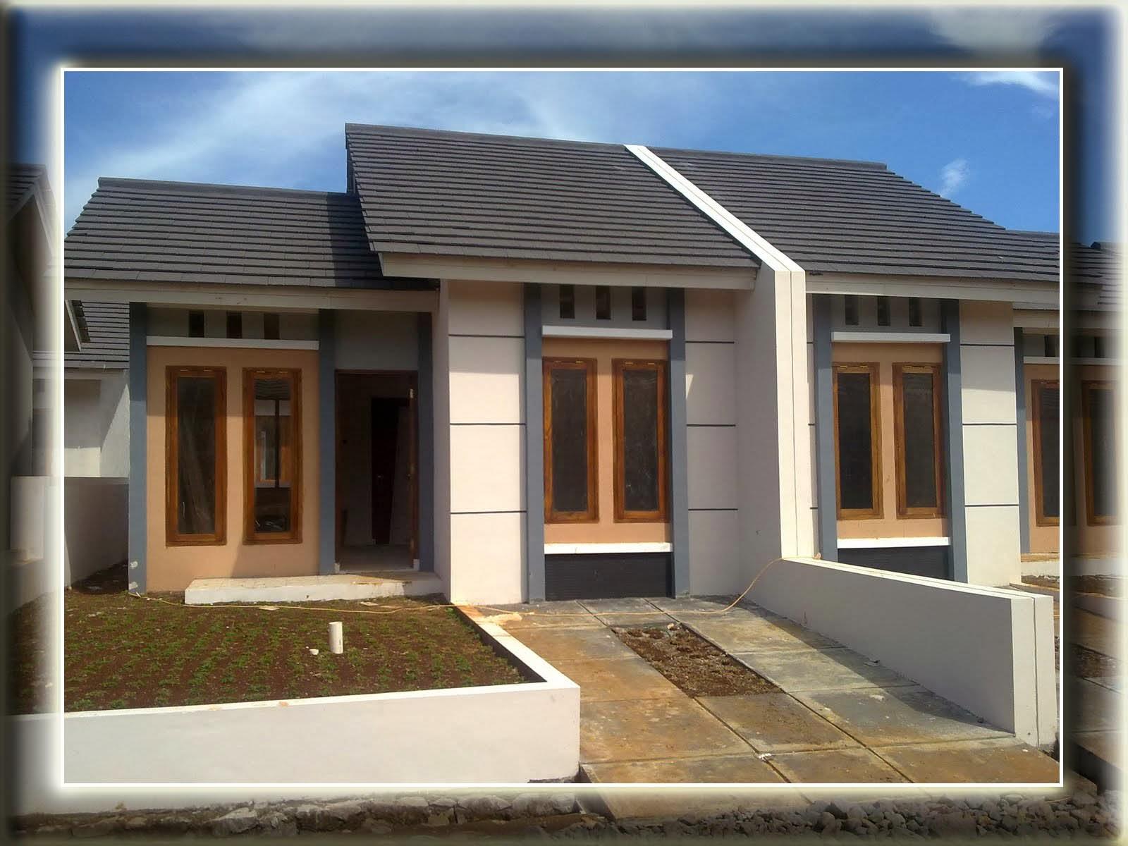 warna cat rumah teras rumah desain rumah type 36