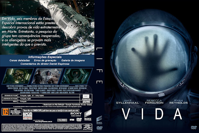 Capa DVD Vida 2017 [Exclusiva]