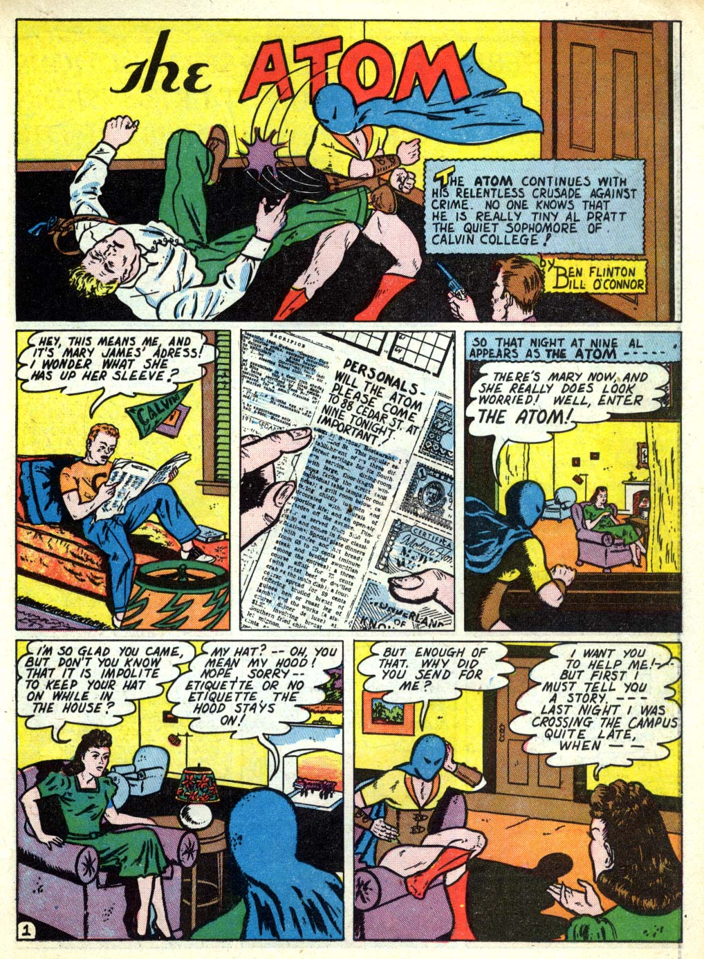 Read online All-American Comics (1939) comic -  Issue #26 - 29