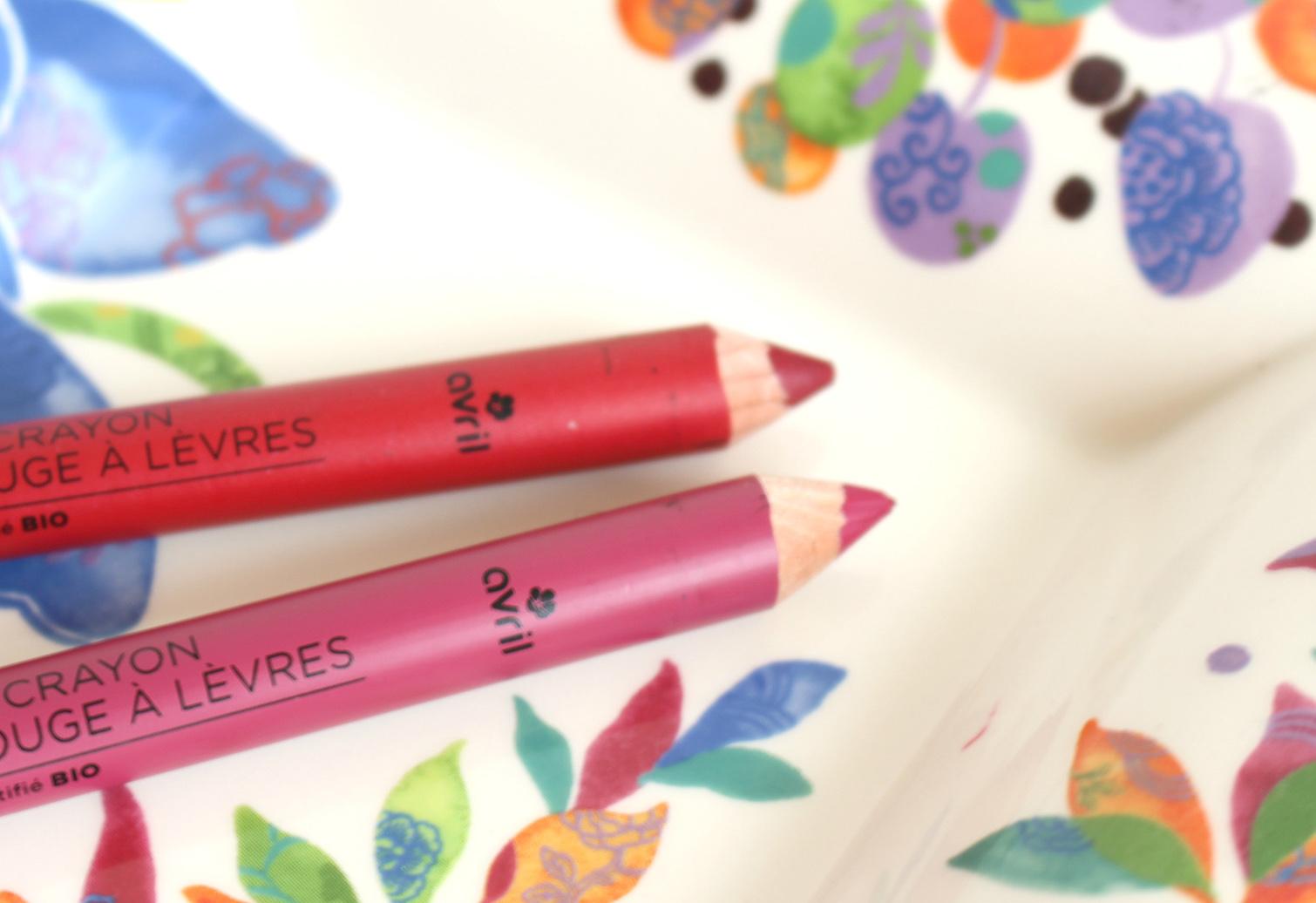 Une bouche à croquer avec les crayons AVRIL
