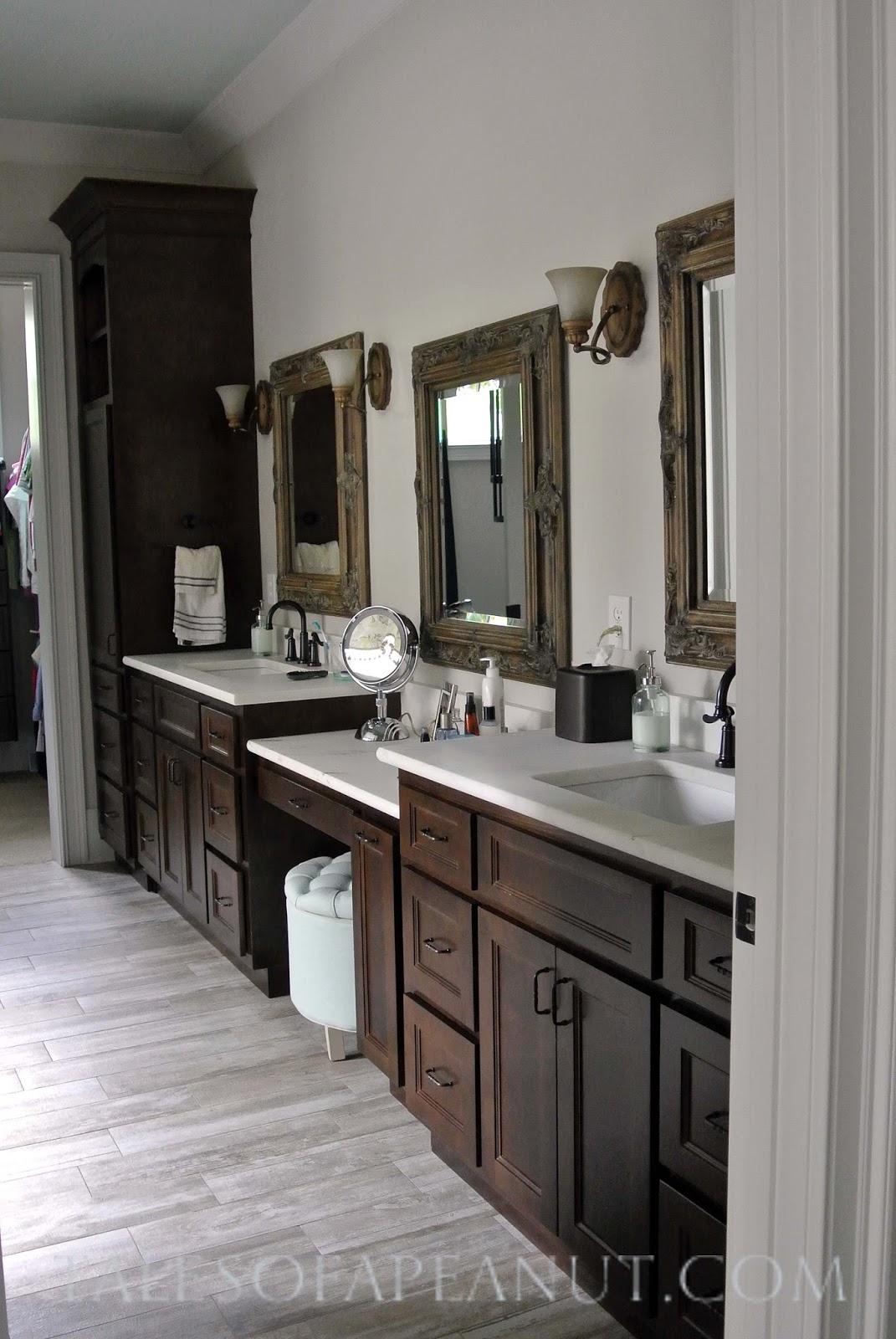Building a Home - Master Bathroom Reveal - Jenn Elwell