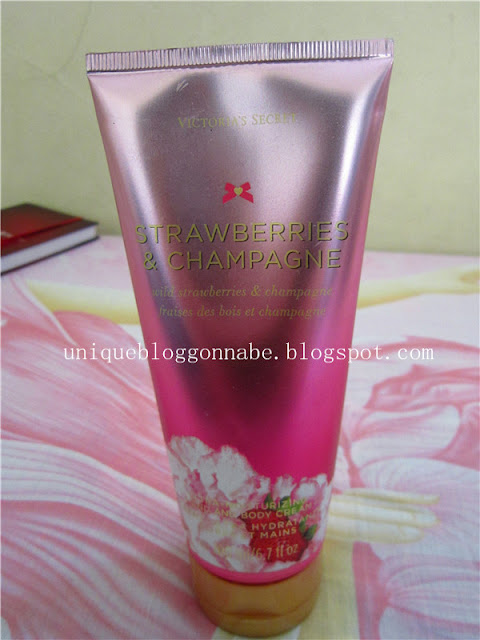 Victoria's Secret Strawberries & Champagne Hand and Body Cream Review