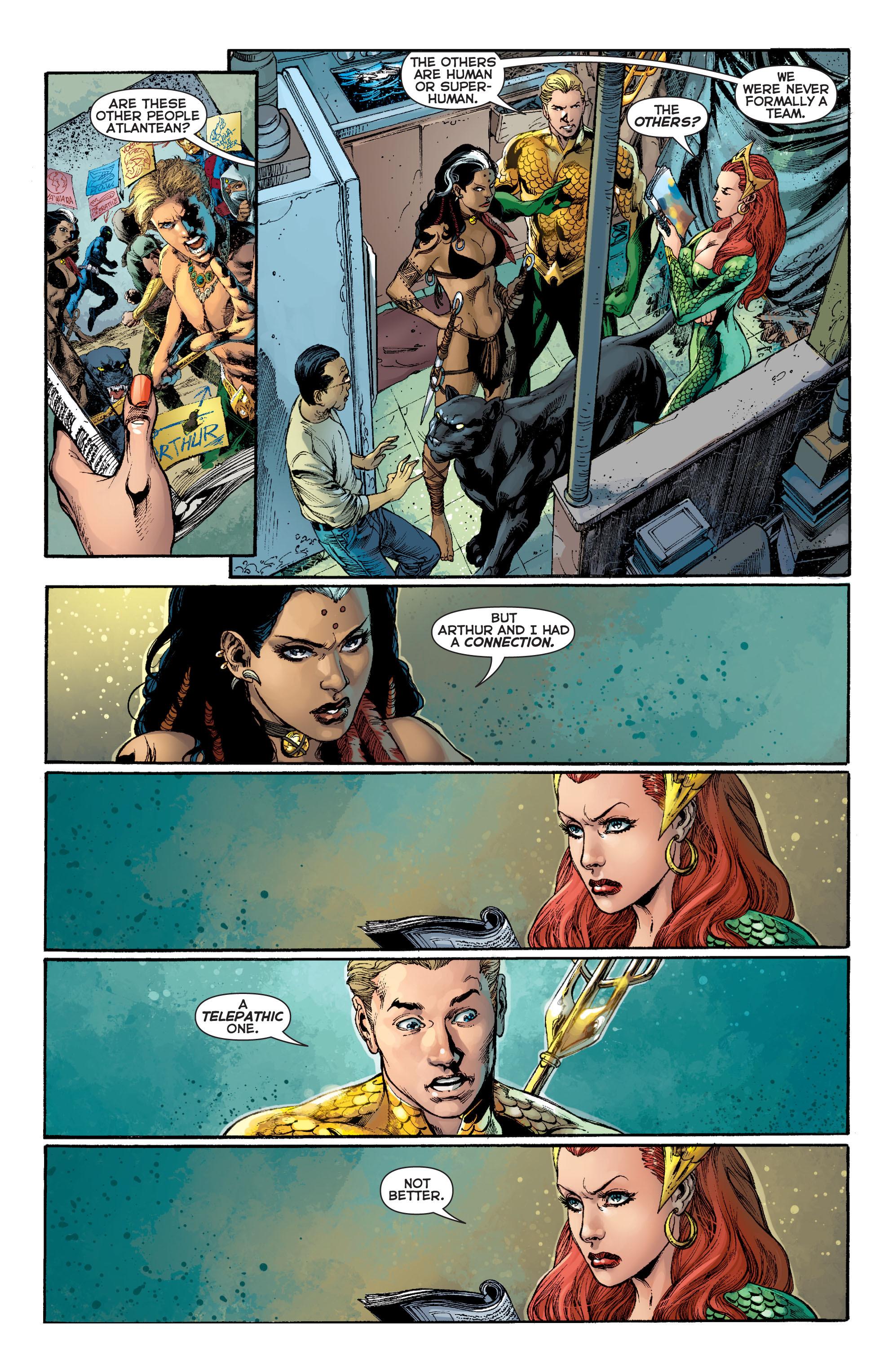Read online Aquaman (2011) comic -  Issue #8 - 9