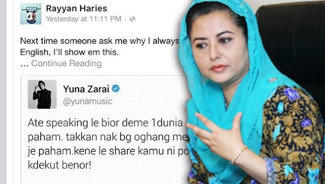 Tweet Yuna Dapat Perhatian Permaisuri Johor
