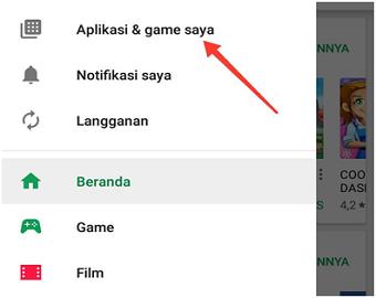 cara mematikan pembaruan otomatis aplikasi Android