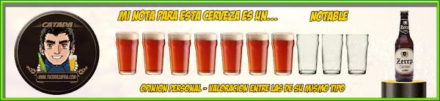 Cerveza ZEREP Rubia Valoración