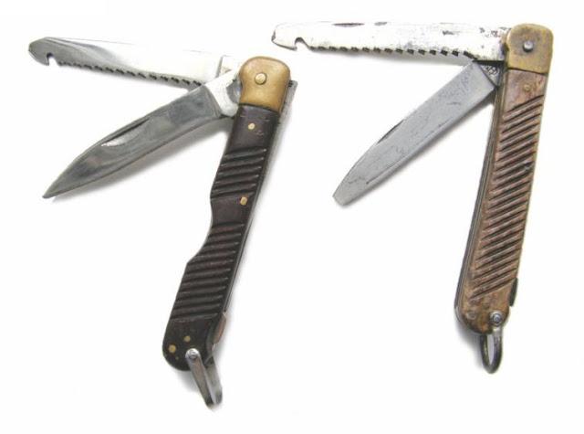 нож из авиационного НАЗа