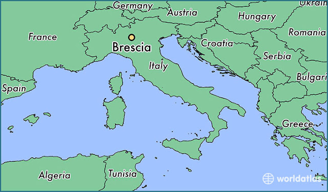 Location of Brescia