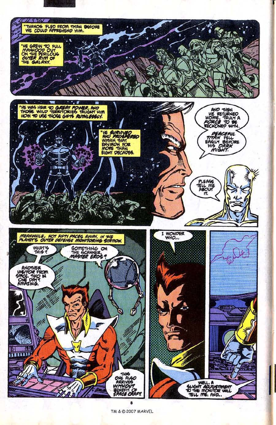 Read online Silver Surfer (1987) comic -  Issue #37 - 10