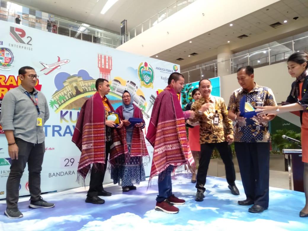 Tingkatkan Pengunjung dan Penumpang, AP 2 Bandara Kualanamu Gelar Travel Fair