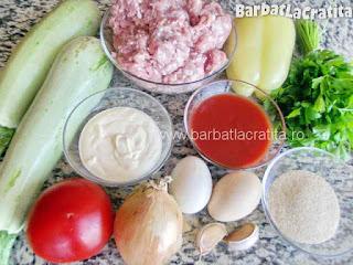 Musaca de dovlecei cu carne - ingredientele necesare prepararii retetei