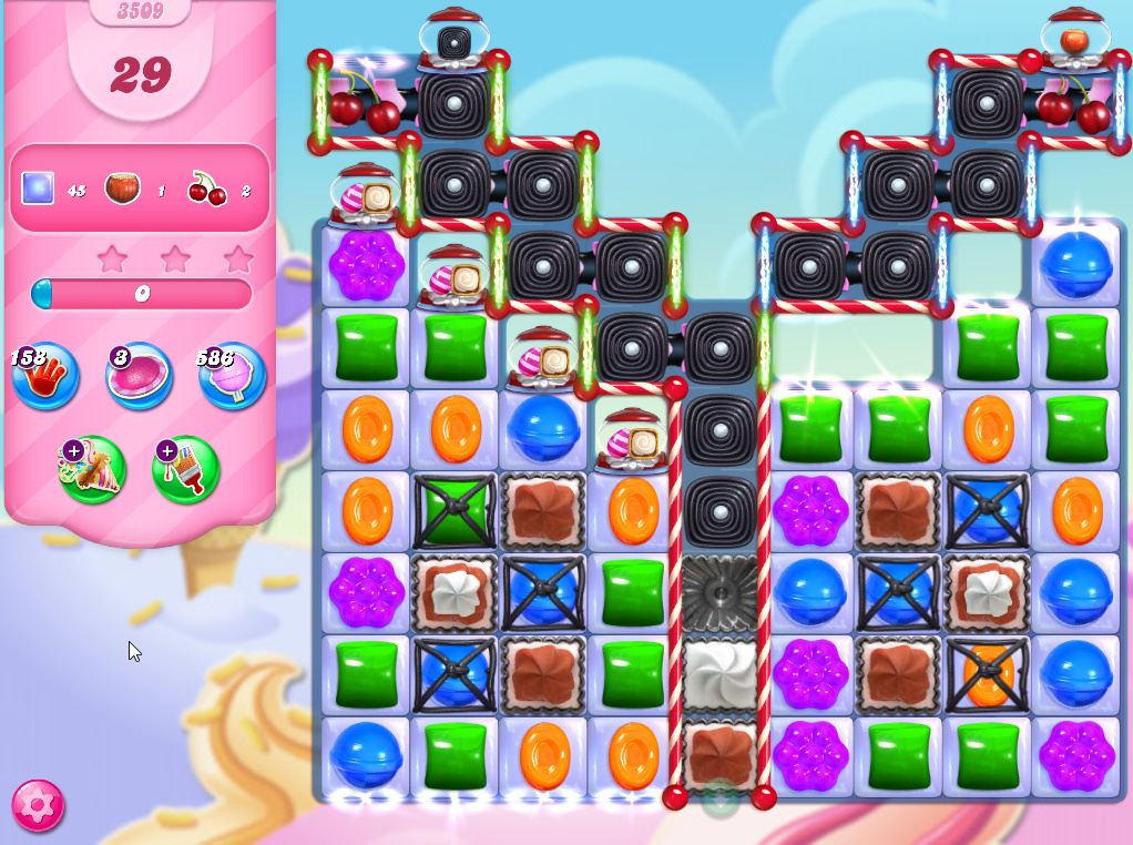 Candy Crush Saga level 3509