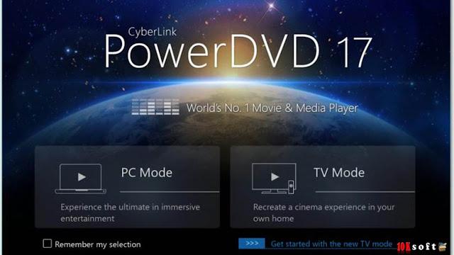 CyberLink PowerDVD Pro 17 Offline Setup File Free Download