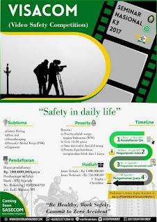 Lomba Video 2017 (Video Safety Competition) dari OSH Forum FKM UNDIP