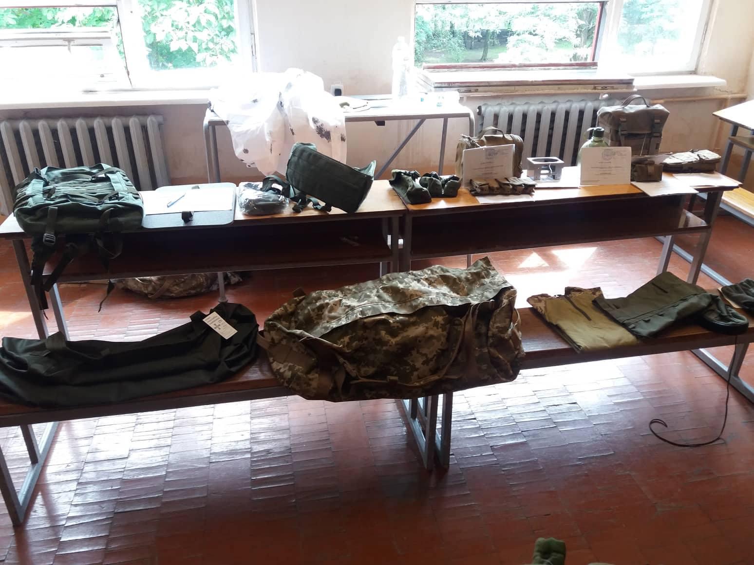 У Десні презентували спеціальне спорядження для снайперів