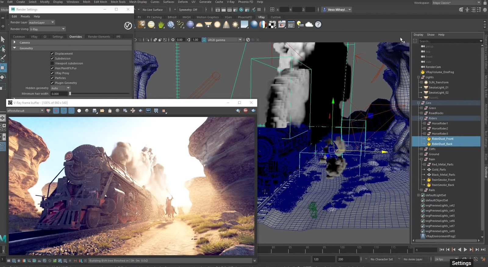 How to use GPU in V-Ray Next for Maya | CG TUTORIAL