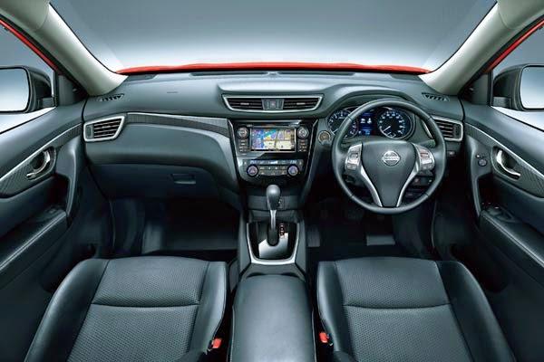 Interior Nissan All-New X-Trail 2016