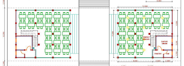 Jasa Gambar Desain Pondok Pesantren  Kota Jakarta Selatan 2020