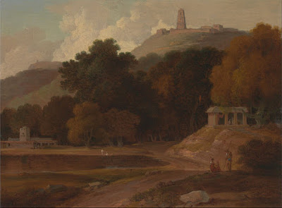 Hilly Landscape by T Daniell