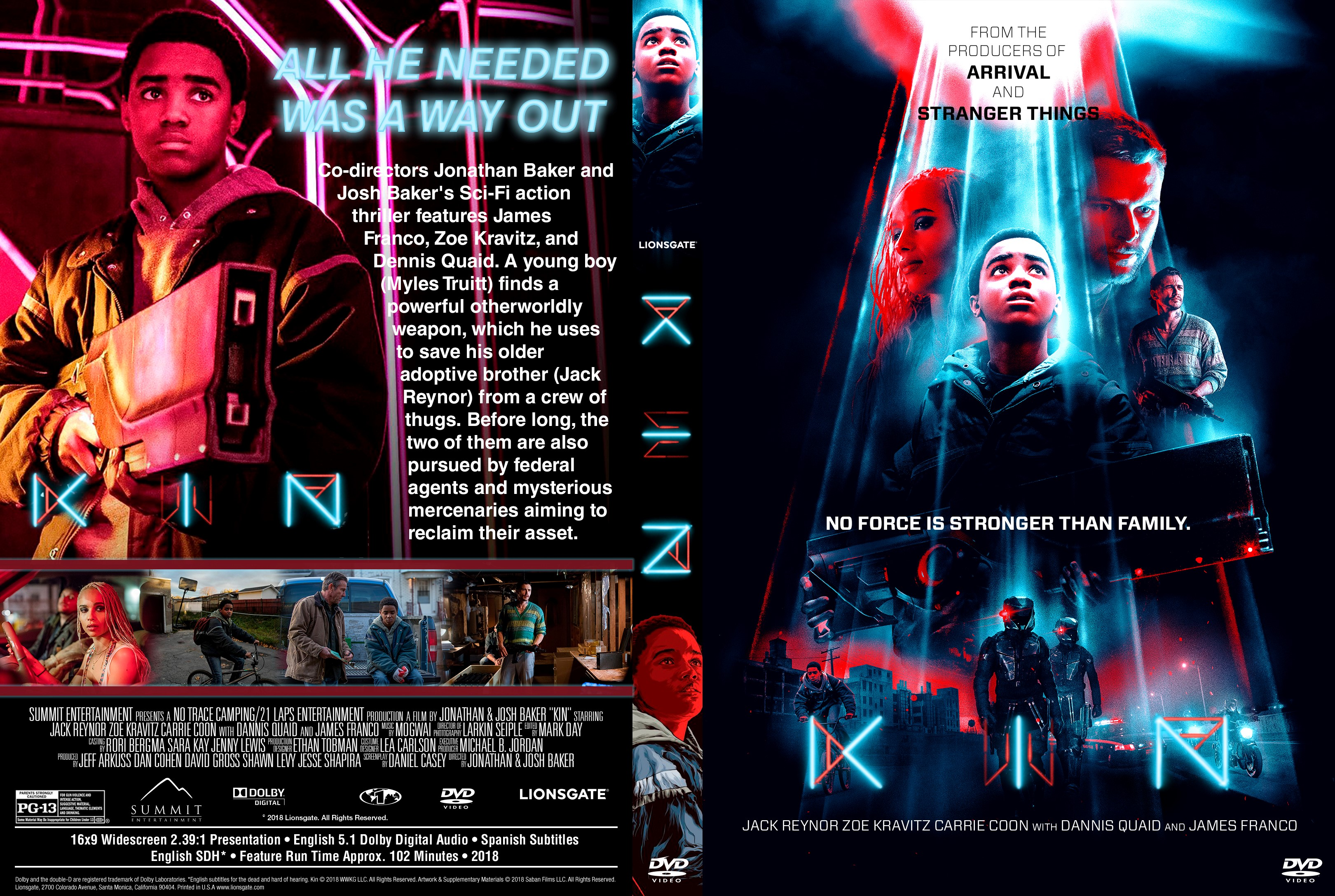 Kin Dvd Cover Cover Addict Dvd And Bluray Covers